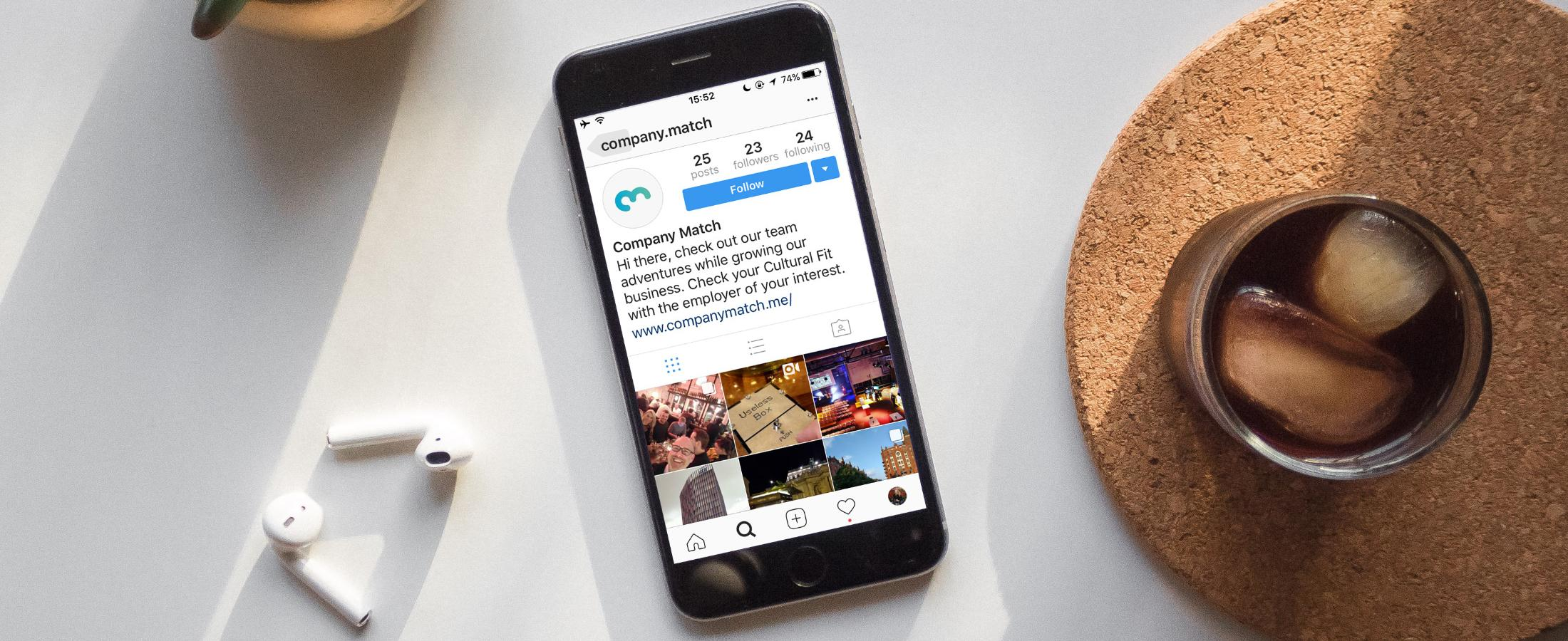 Building your Employer Brand on Instagram