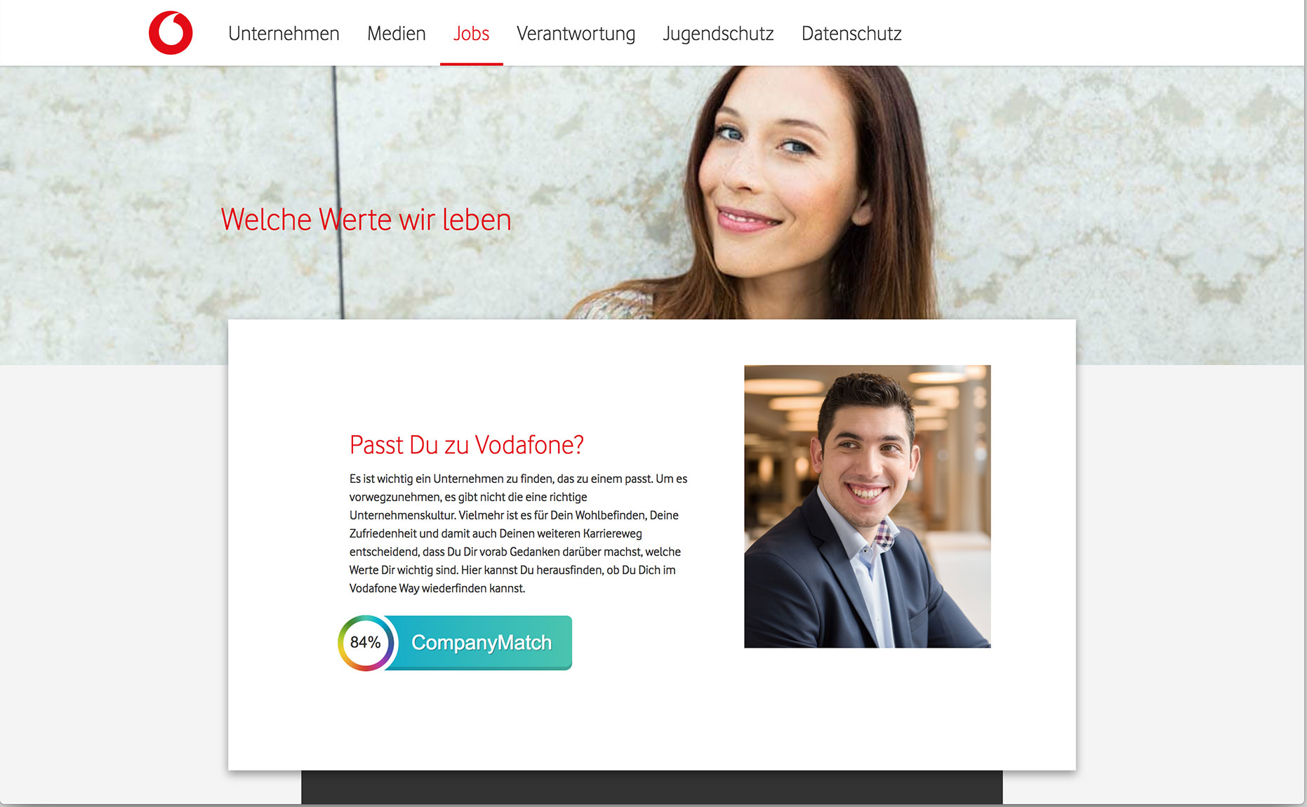 AIDA model Vodafone Desire