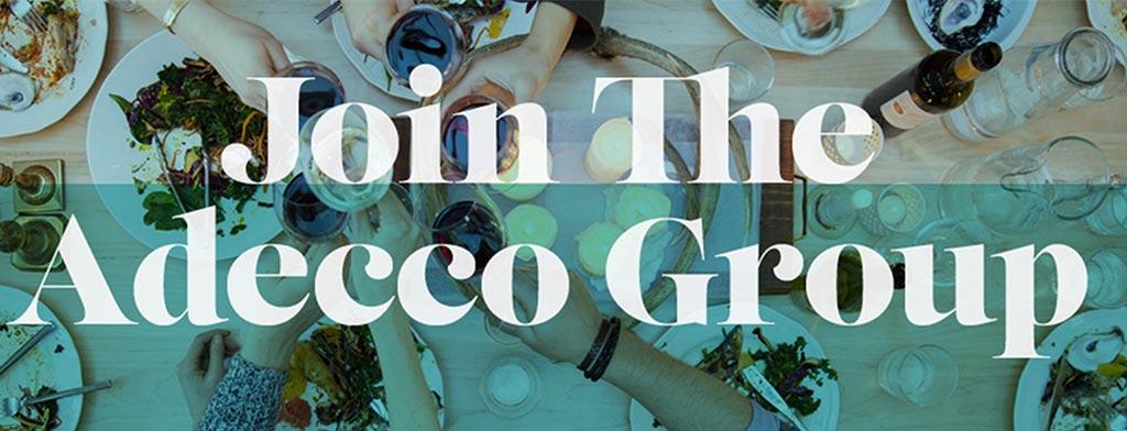 Die Adecco Group ist mit dabei!