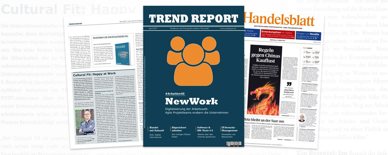 Handelsblatt Trend Report: Digitalisierung der Arbeitswelt
