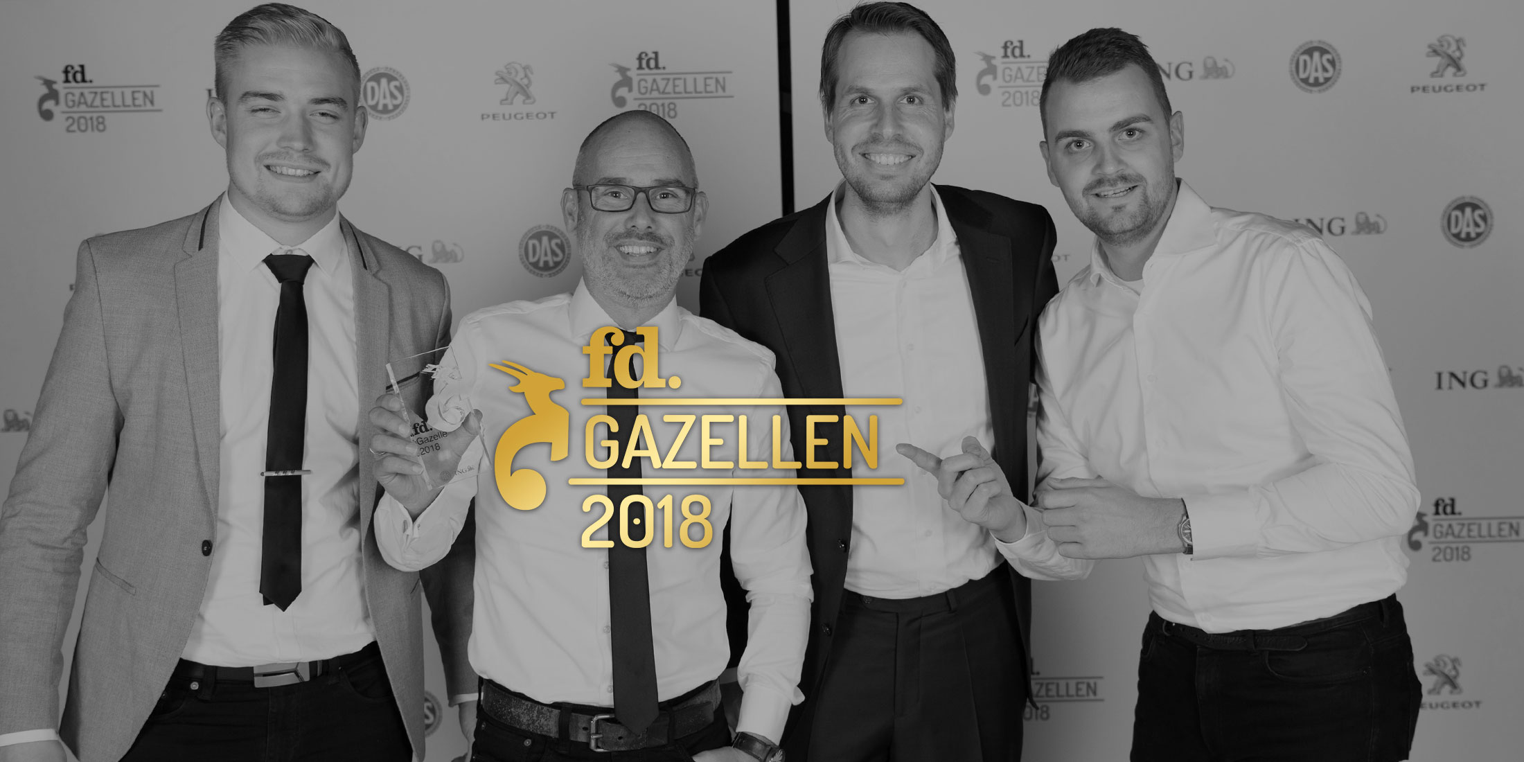 CompanyMatch wint FD Gazellen 2018